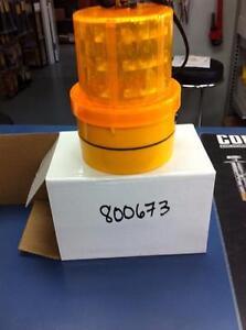 Lumiere pour transport signalisation orange magnétique