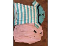 Ralph Lauren shirts. Older Boys/mens