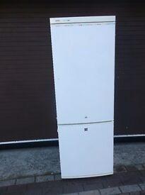 BOSCH FRIDGE FREEZER, 156cm HIGH