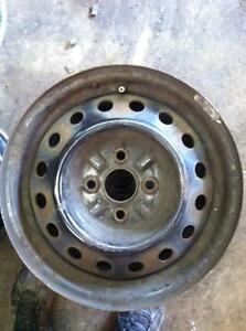 "4 - Toyota Echo 14"" Steel Rims"