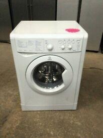 White Indesit A+ Class Wash&Dryer 6+5 Kg