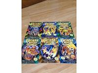 Beast quest books (55-60)