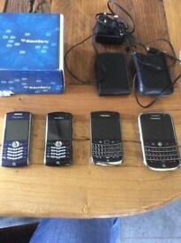 Bundle 4 blackberry phones