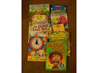 9 x Children books job lot - house clearance
