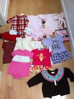 Lot of Brand New Girl Clothes - Size 0-6 mos