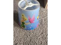 Tinkerbell and fairy friends lamp shade