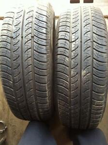 2 - Cooper All Season Tires with Good Tread - 205/70 R15