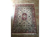 Persian style wool rug