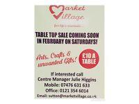 Table Top Sale Market Village Sutton Coldfield