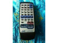 JVC home tape and CD player with remote