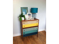 Beautiful Vintage Retro/ Shabby Chest of Drawers