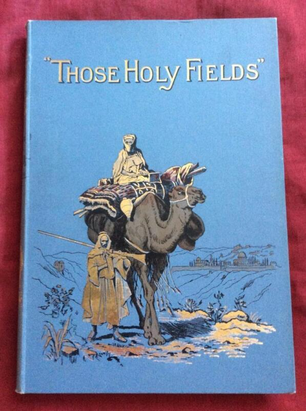 1892 ANTIQUE PALESTINE HOLY LAND ISRAEL BIBLE JERUSALEM BETHLEHEM JERICHO ARABS