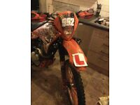 125cc crosser 16 plate road legal learner legal