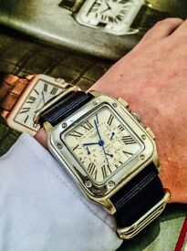 Cartier Santos Homage - Gentlemans Watch