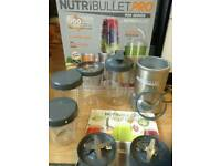 Nutribullet pro 900W food blender
