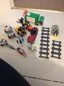 Lego vehicles lot