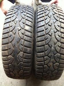 2 - Wanli Winter Tires - 175/65 R14