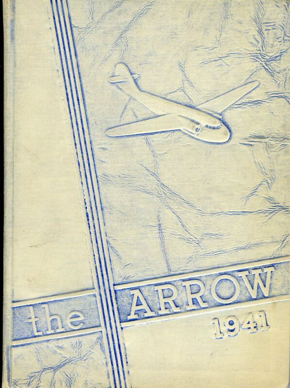 1941 Chillicothe, Ohio High School Yearbook - The Arrow W/1991 Reunion Paper