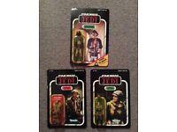 Star Wars MOC Action figures - 1984 Kenner Vintage ROTJ - Leia, Lando and Han
