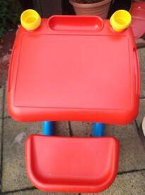 ELC toddler plastic sturdy desk
