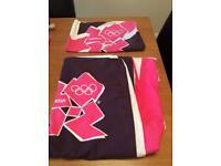 Lovely single duvet & pillowcase set from the London 2012 olympics