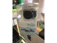 Kit vision splash waterproof camera like go pro