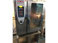 COMMERCIAL KITCHEN CATERING SCC RATIONAL COMBI OVEN FAST FOOD PERI PERI CHICKEN RESTAURANT KITCHEN