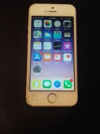 iphone SE rose gold 32gb on O2