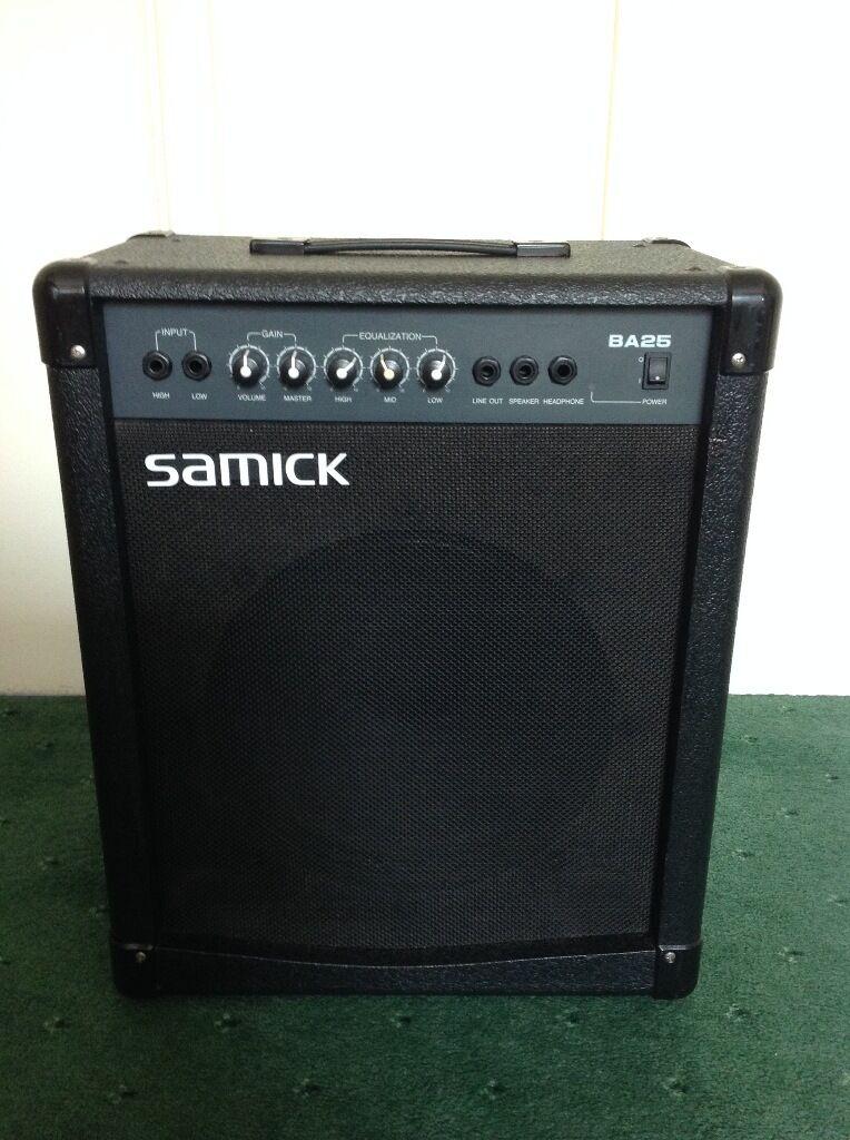 Samick Bass Amp Samick Ba25 Bass Amp