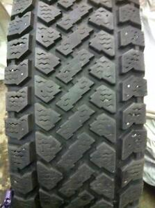 4 - Pacemark Winter Tires with Good Tread - 235/70 R16