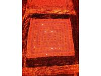 King size hand made Indian throw