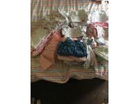 Bundle of baby girls clothes Newborn/first size