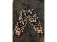 Cropped Rivee Island pants/trouser