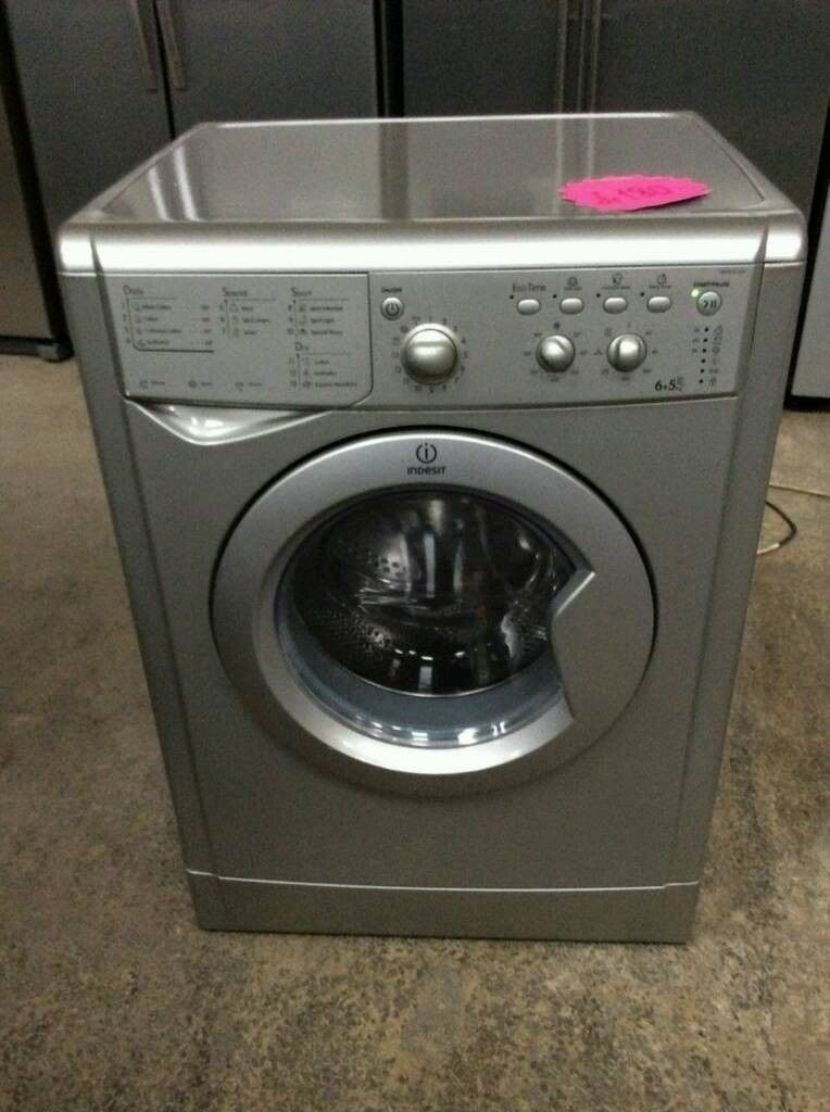 Silver A+ Class Indesit Wash&Dryer 6+5 kg