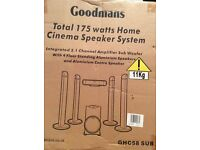Goodmans cinema surround sound speaker system