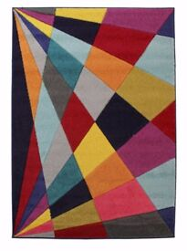 Multi coloured Floor Rug, Amazing Colours, 3 sizes, Delivery can be arranged at a extra cost