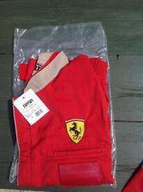 Motorsport gear.