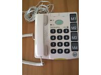 Doro telephone with emergency alarm