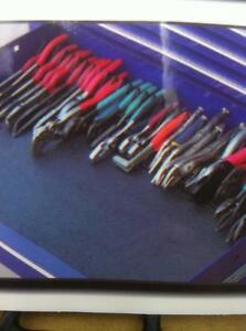 PLIERS CUTTERS RACK ORGANIZER NEW FOR 32 PLIERS