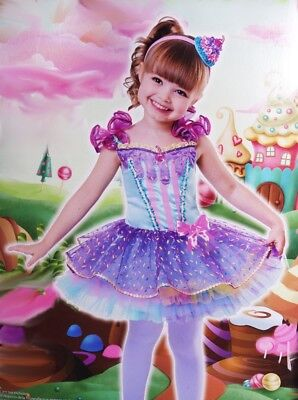 Baby Girls Toddler CUPCAKE Cutie Halloween Purim Costume Dress Dessert 2T - Baby Girl Cupcake Kostüm
