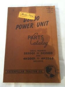 CAT-CAT-Caterpillar-D8800-POWER-UNIT-5E-4H