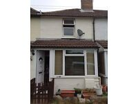 2 bedroom house available for rent NOW. This is a short term tenancy as the property is up for sale.