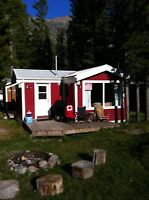 Cozy Ski in Ski Out Cabin in Beautiful Castle mountain Resort