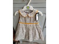 Marks and Spencer Girls Dress 12-18 Months - New