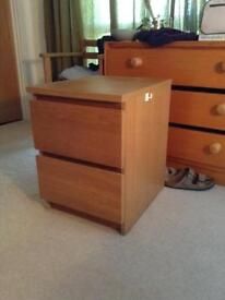 Ikea solid pine cabinet