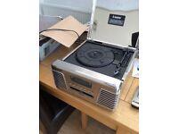 Steepletone 3 speed turntable,radio,cd. Model Roxy