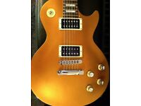 Goldtop Gibson Les Paul Studio - Locking Tuners, Slim Neck, Light Weight