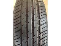 Michelin 205 55 ZR 16. New tyre plus Jack kit