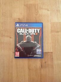 Black Ops 3 For PS4 EXCELLENT CONDITION