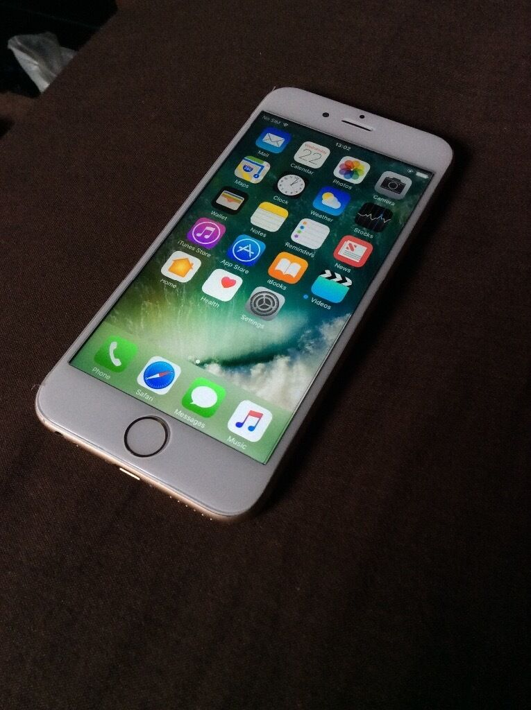 iPhone 6 Gold64GB EE/T Mobile Good Conditionin Erdington, West MidlandsGumtree - iPhone 64GB Gold And White Fully Working Can be tested before buying On EE and a few other carriers Comes with a gold protective case and tempered glass screen protector Cheapest 64GB version on gumtree! Reason im selling it because ive bought a...